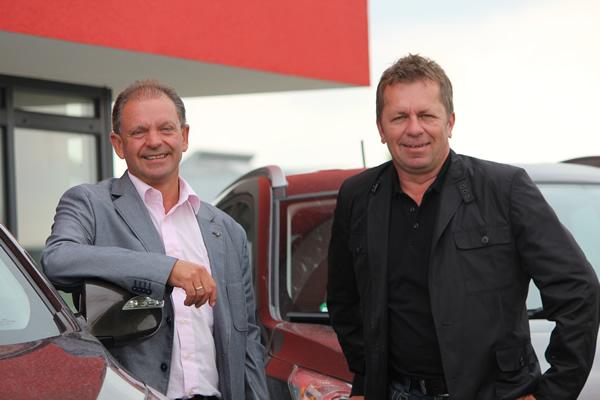 Geschäftsleitung RiNo Gebäudedienstleistungen GmbH & Co. KG: W. Ringler und H. Nowak