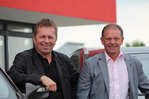 Geschäftsleitung RiNo Gebäudedienstleistungen GmbH & Co. KG: H. Nowak und W. Ringler