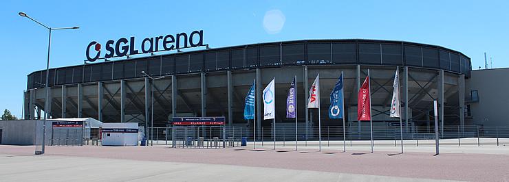 SGL Arena des FC Augsburg. Photo: merk+partner 2012