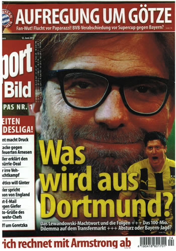Cover Sport Bild Nr. 24/2013