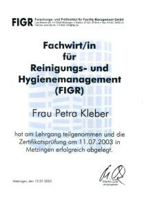 Kleber Petra Fachwirt (FIGR)