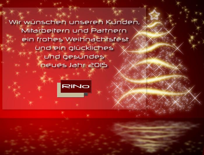 Weihnachtsgruß 2014 und Neujahr 2015