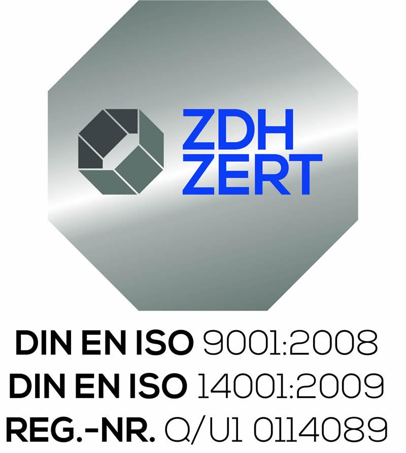 Kombi-Siegel DIN EN ISO 9001:2008-DIN EN ISO 14001:2009