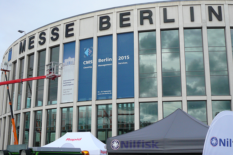 RiNo auf der Messe CMS in Berlin 2015
