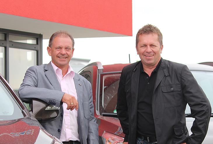 RiNo Geschäftsleitung W. Ringler & H. Nowak