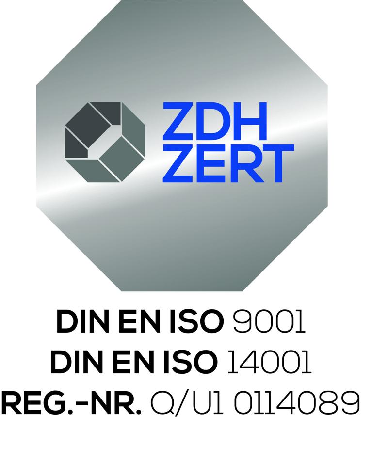 Kombi-Siegel DIN EN ISO 9001-DIN EN ISO 14001